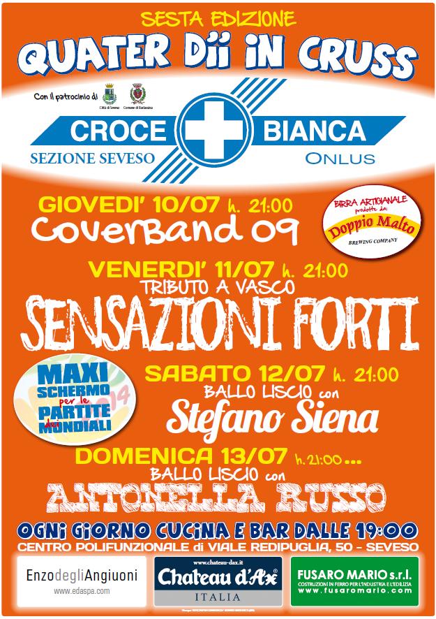 Locandina Festa 4DCruss 2014